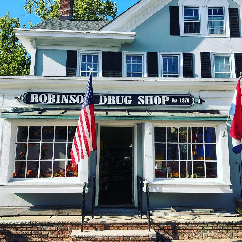 Robinson Drug Shop Store Front